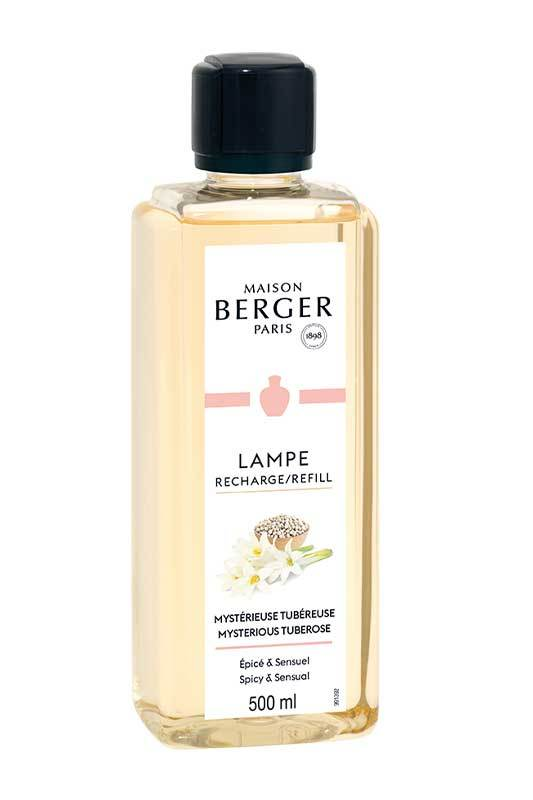 MYSTERIEUSE TUBEREUSE Lampe Berger 500ml