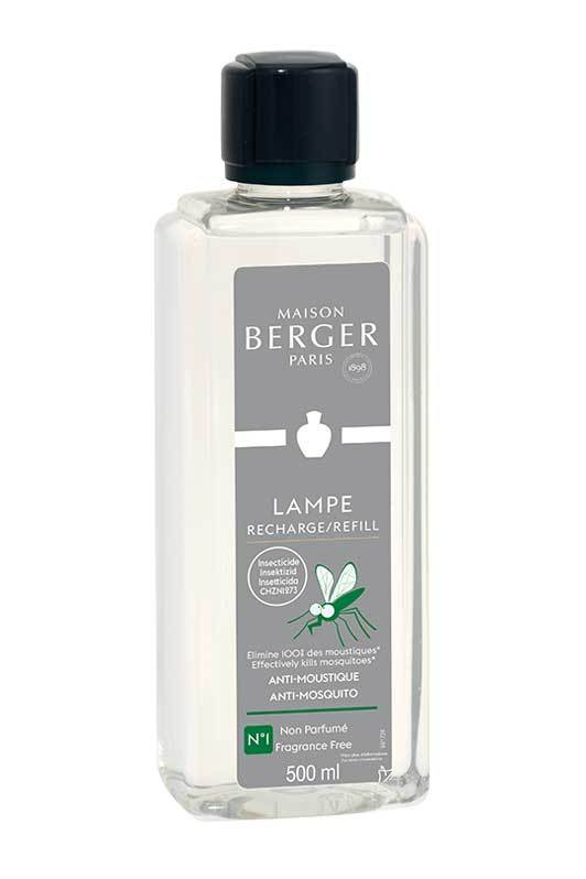 ANTI MOUSTIQUE Lampe Berger 500ml