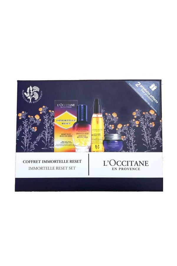 Set Oil reset Serum Immortelle