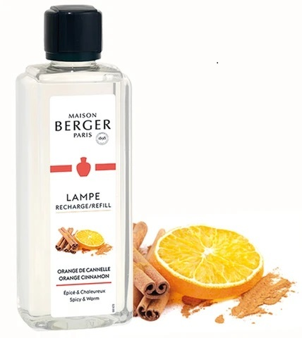Orange - Zimt  Lampe Berger 500 ml