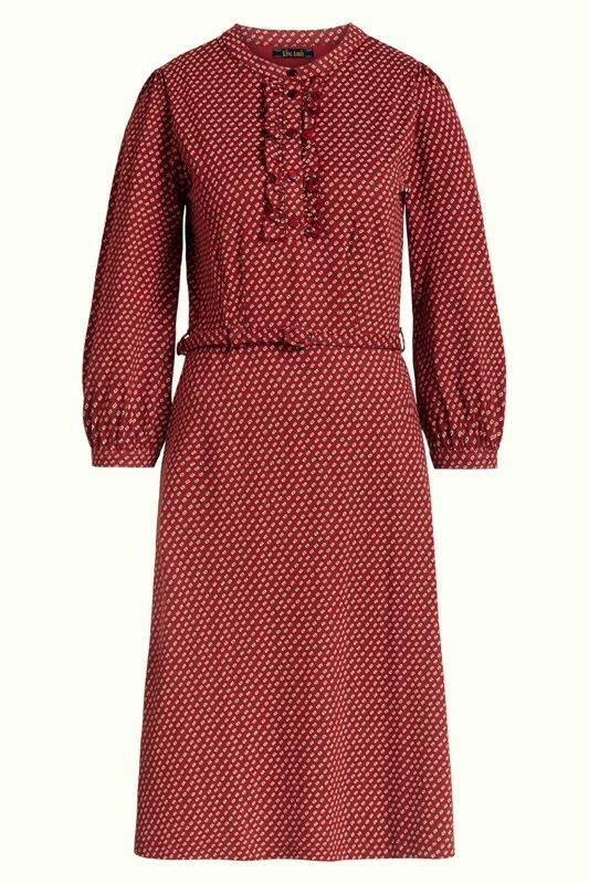 Kleid Caro terra red Sale