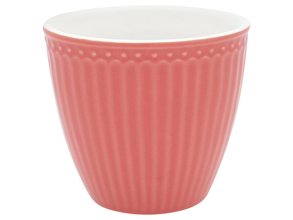 Latte cup Alice coral