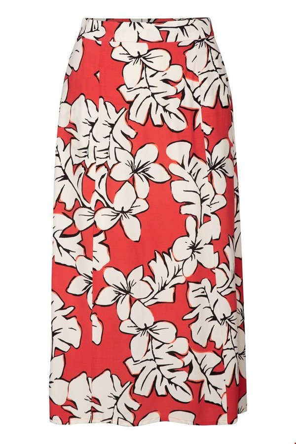 Rock Hawaii blossom midi Viskose